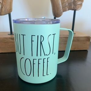 BUT FIRST, COFFEE insulated stainless travel mug